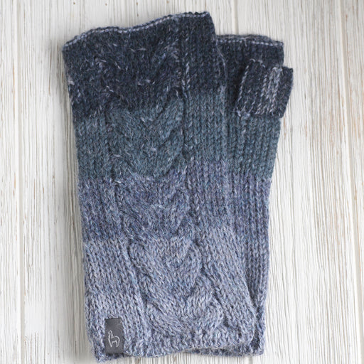 Azul Fade Fingerless Gloves