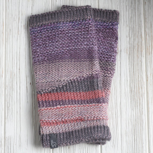 Berry Colorado Fingerless Gloves