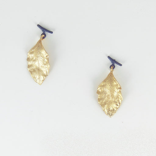 AUTUMN BIRCH POST EARRING