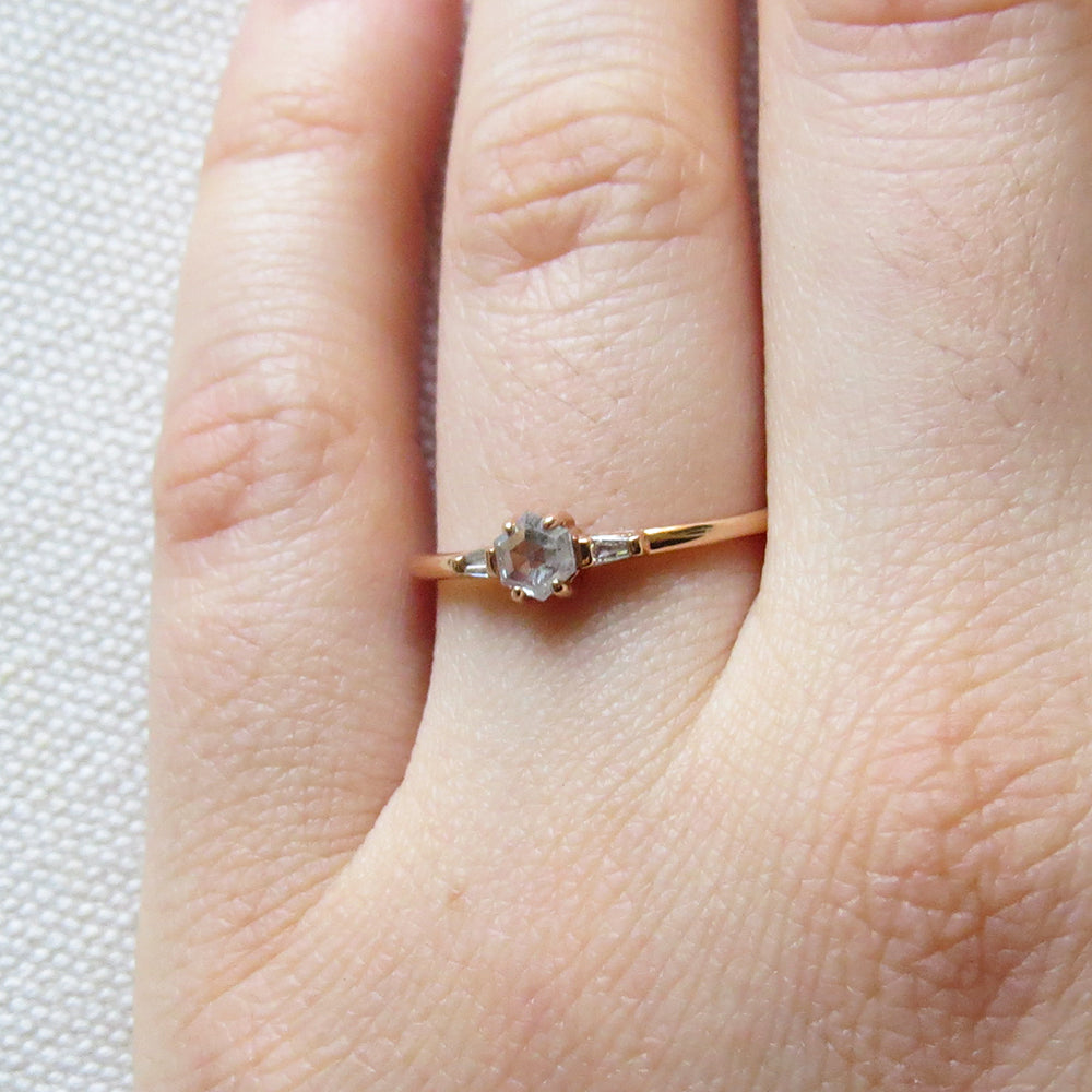 ZOE ROSE GOLD RING