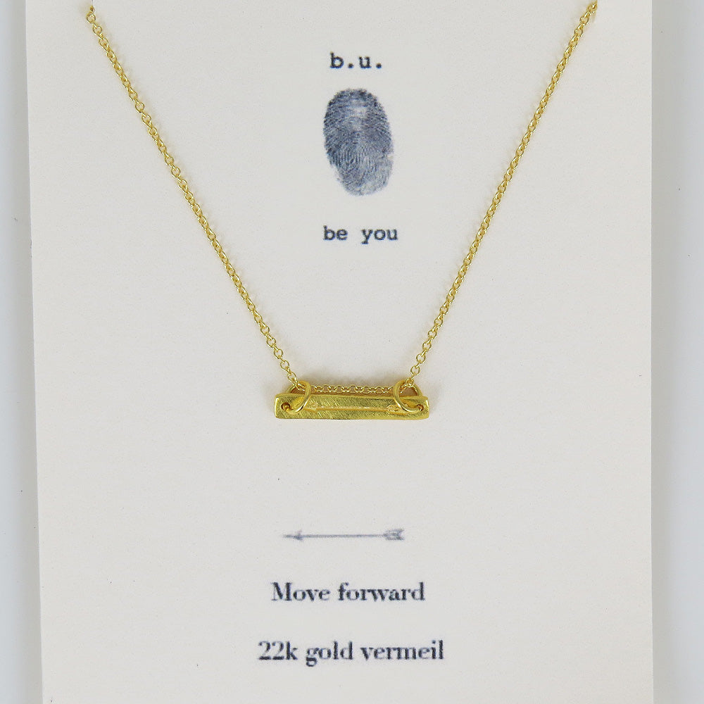 MOVER FORWARD VERMEIL NECKLACE