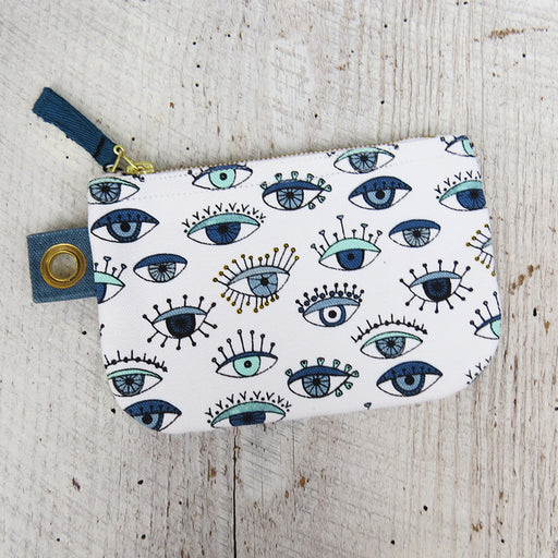 BIRD EYE SMALL ZIP POUCH
