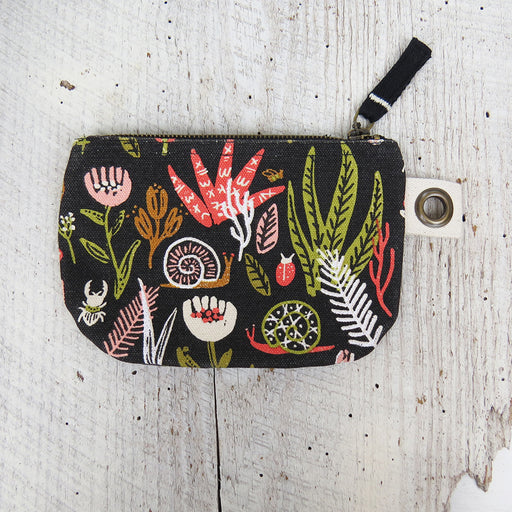 SMALL WORLD SMALL ZIP POUCH