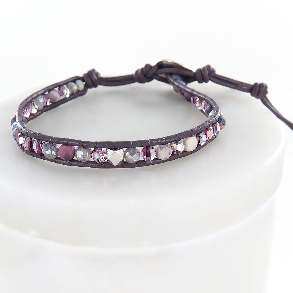 LIL SHA  MIX SINGLE WRAP BRACELET