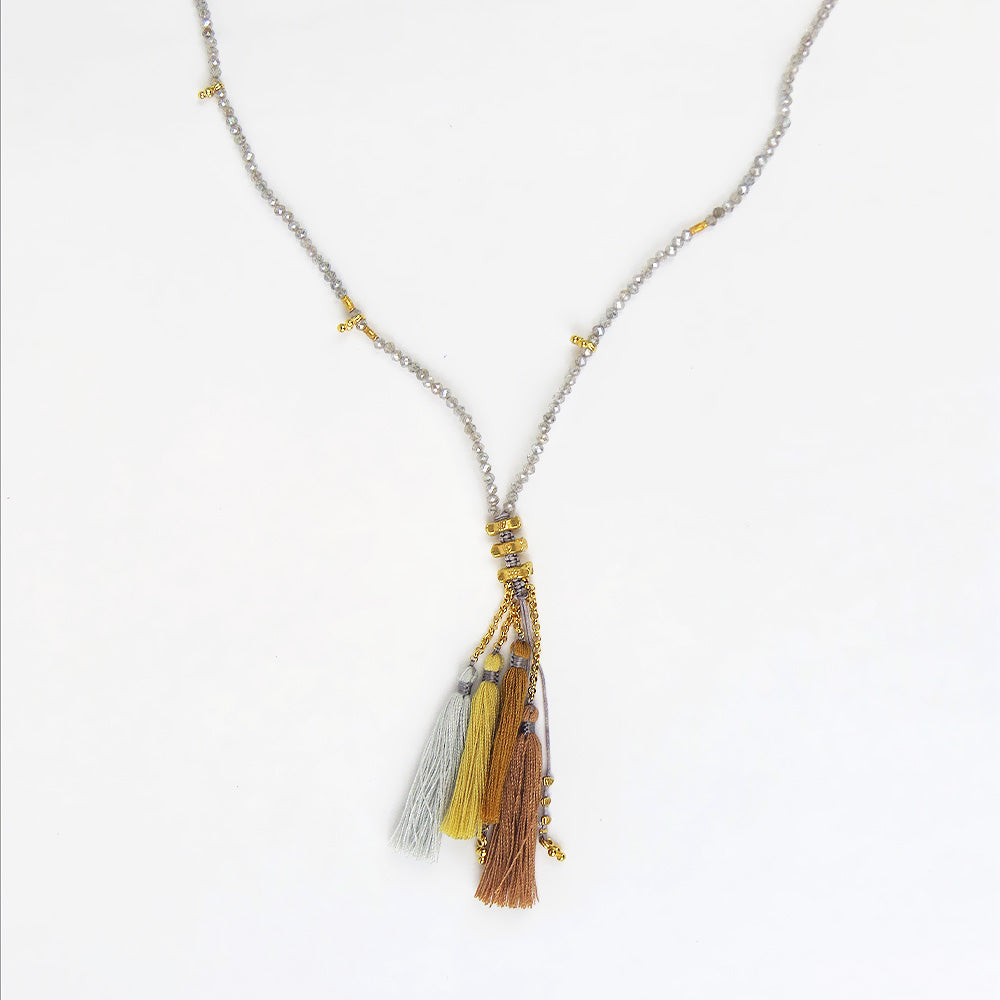 MYSTIC LABRADORITE MIX NECKLACE