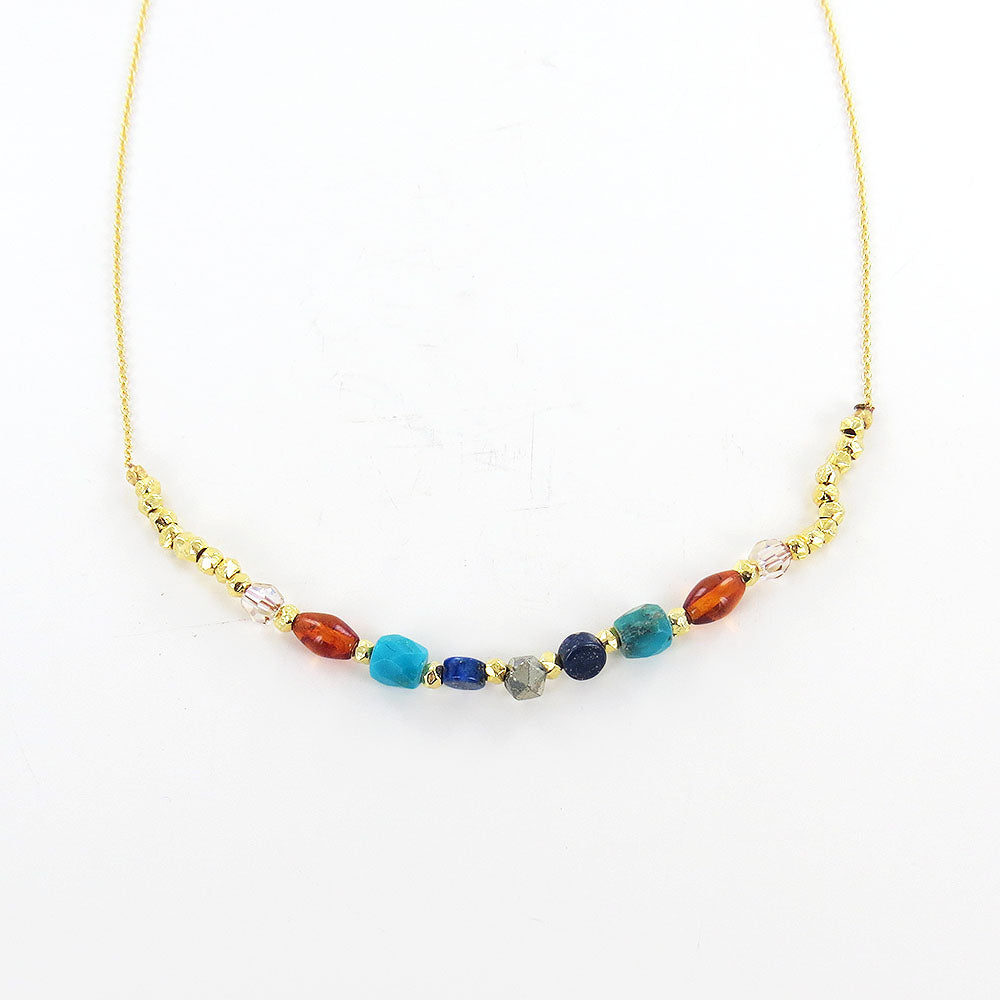 MULTI MIX SHORT NECKLACE