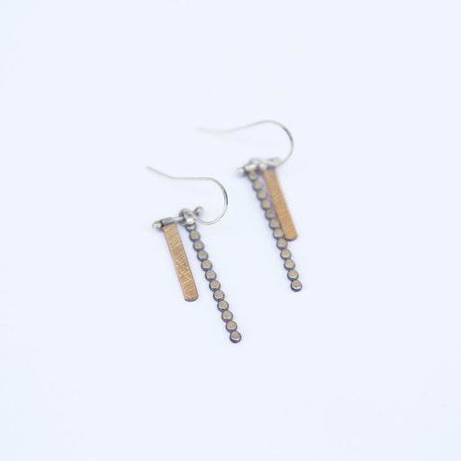 Small Hanging Sticks Earring