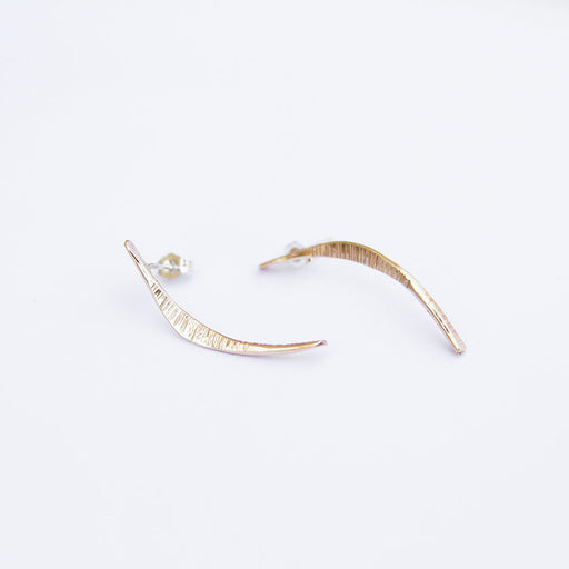Mobius Gold Fill Post Earring