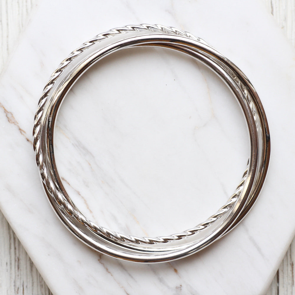 Twisted Trifecta Bangle