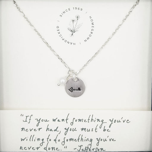 Jefferson Something You've Never Done Necklace