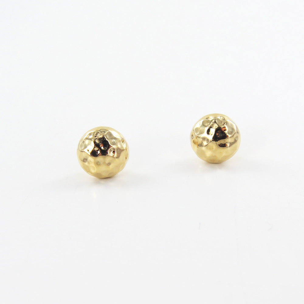 HAMMERED SPHERE STUD