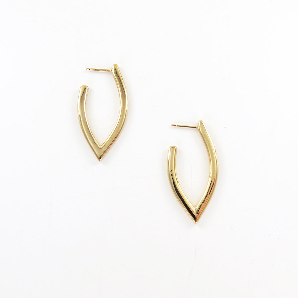 """V"" SHAPED HOOPS"