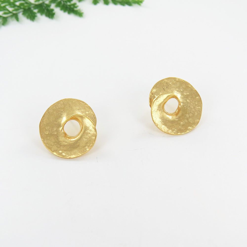 INFINITE LOVE SMALL STUD GOLD