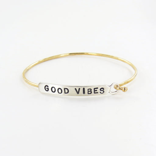 GOOD VIBES BANGLE