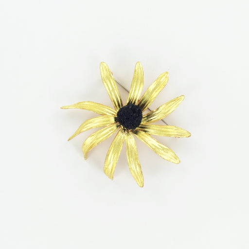 black-eye susan pin brooch