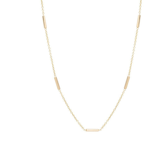 HORIZONTAL TINY BARS NECKLACE