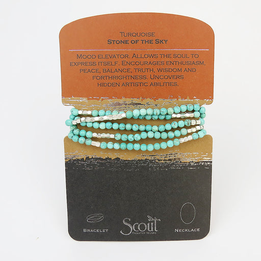 SCOUT TURQUOISE WRAP