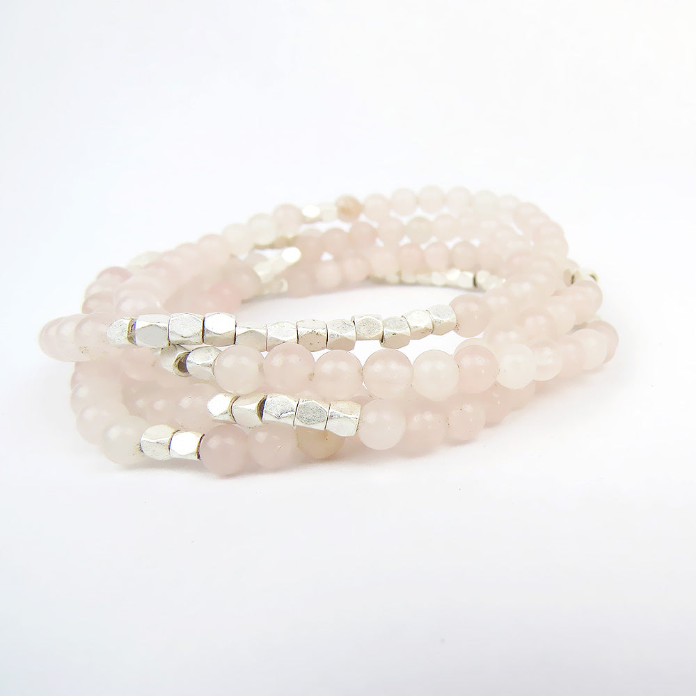 SCOUT ROSE QUARTZ WRAP