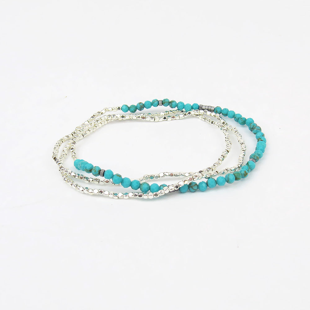 SCOUT DELICATE TURQUOISE WRAP