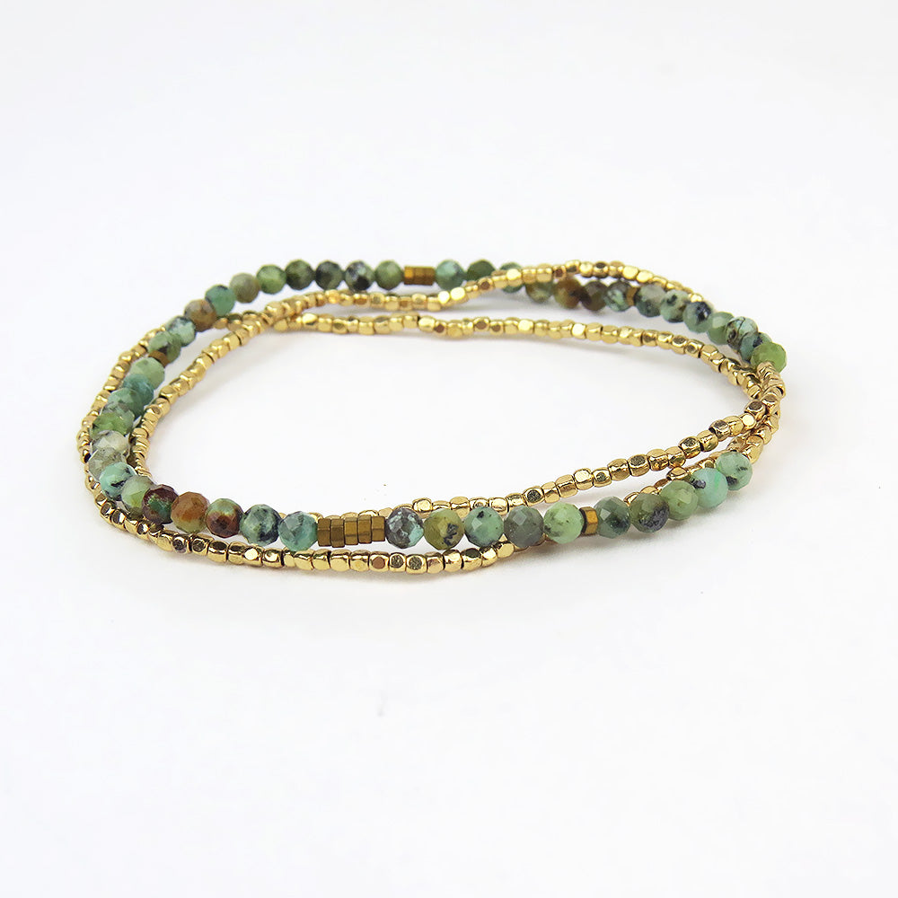 Scout Delicate African Turquoise Wrap