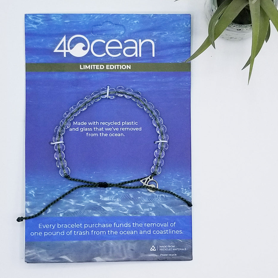 4 OCEAN BRACELET LEATHERBACK SEA TURTLE