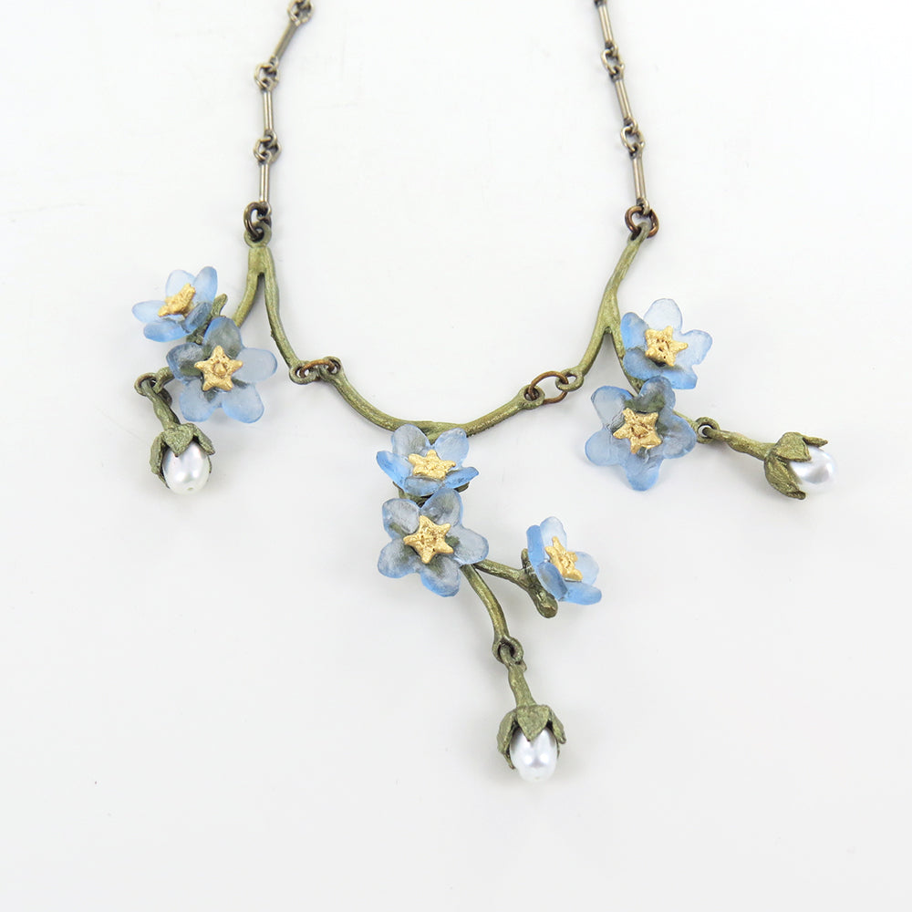 FORGET ME NOT 3 DROP NECKLACE