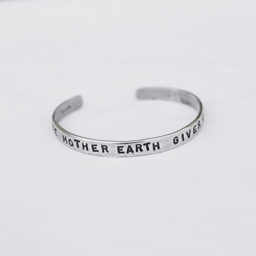 mother earth cuff bracelet