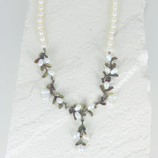 BOXWOOD BEADED NECKLACE