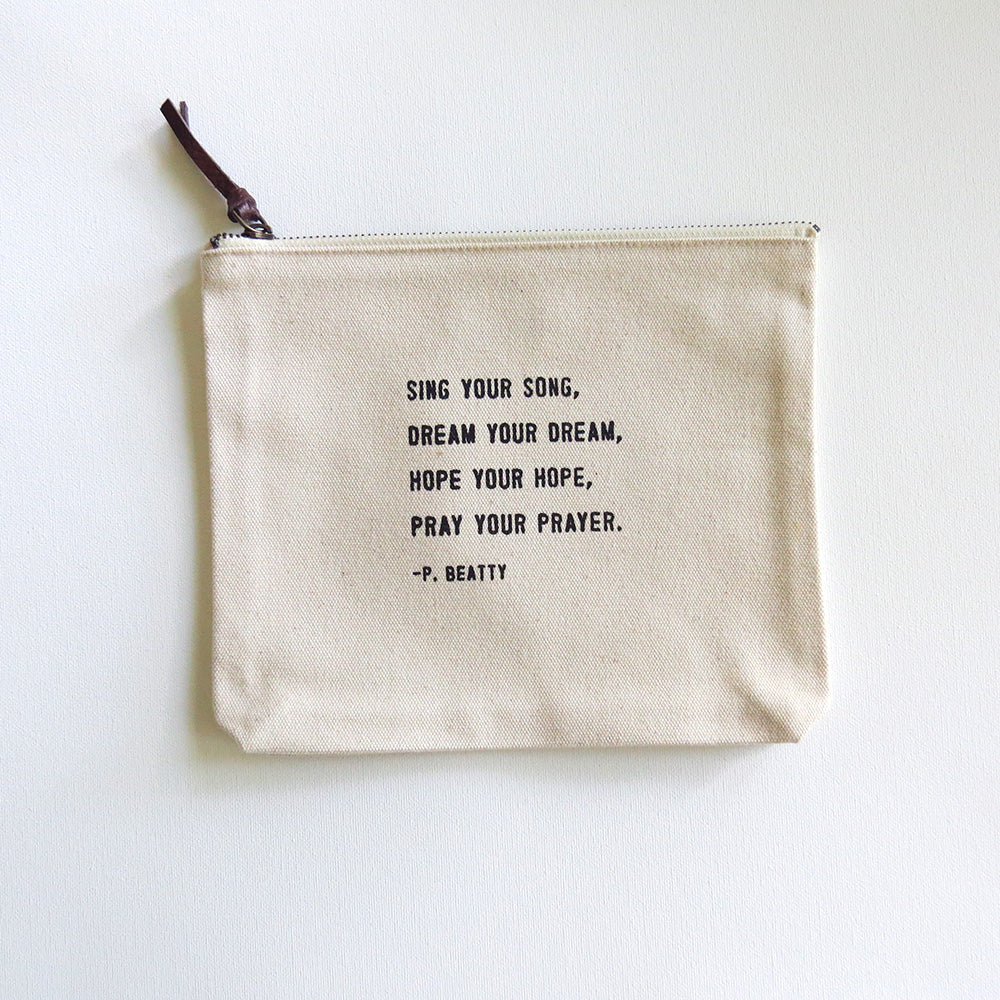 SING YOUR SON CANVAS BAG