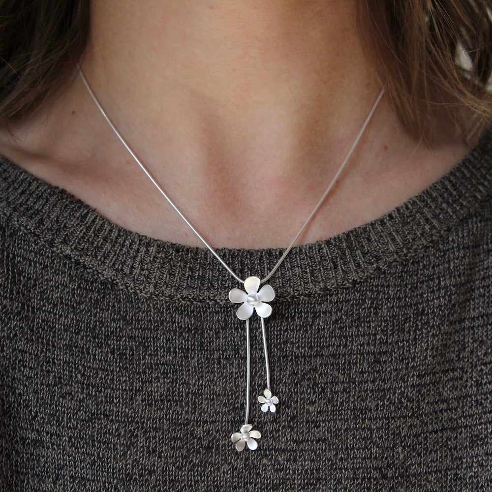Forget Me Not Dangle Pendant