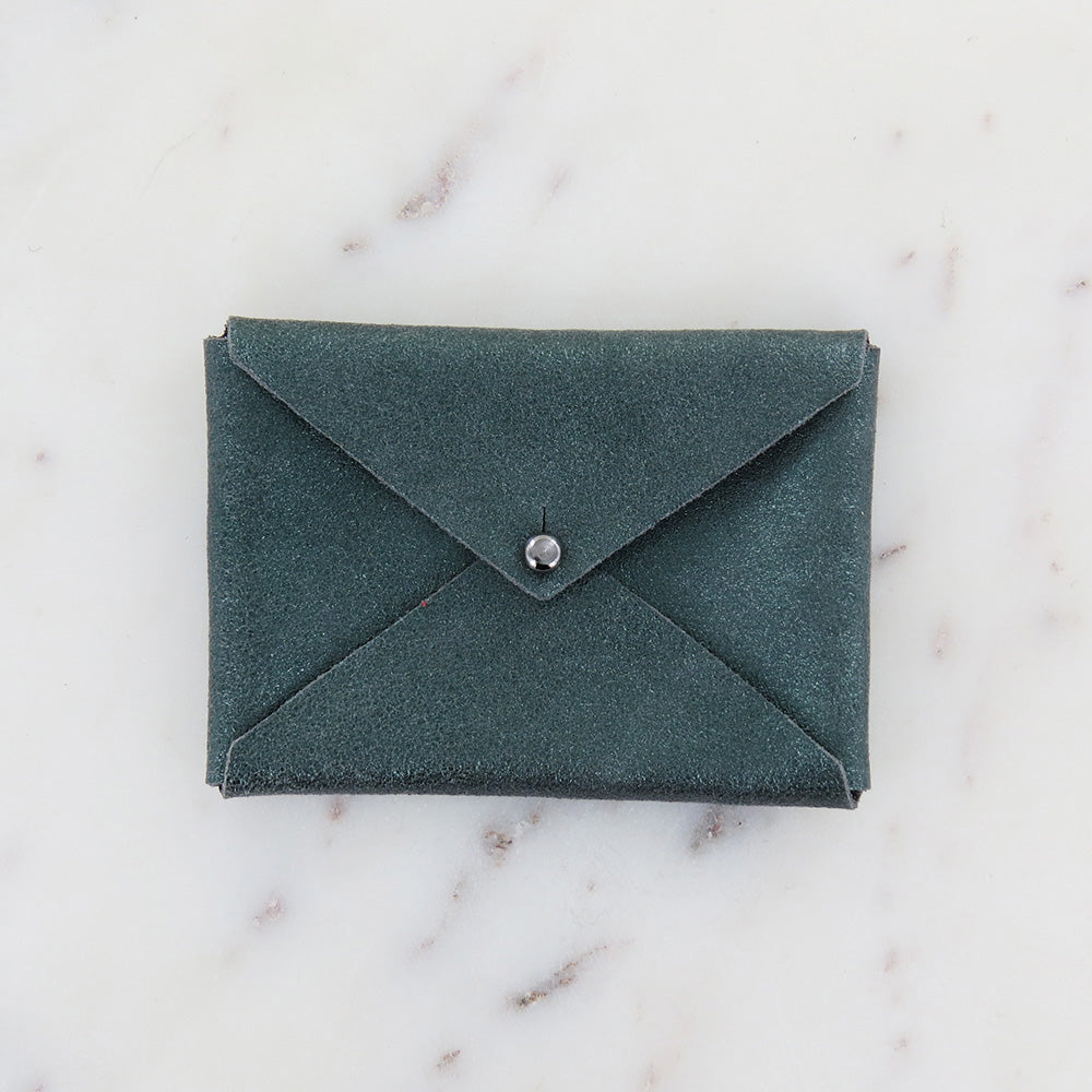 ANDIE WALLET IN EVERGREEN WITH SMOKE