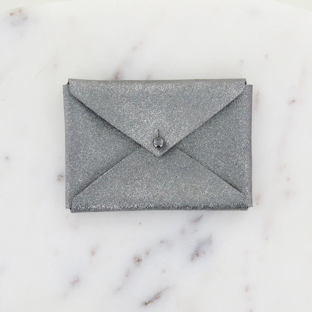 ANDIE ENVELOPE WALLET IN SMOKE SPARKLE