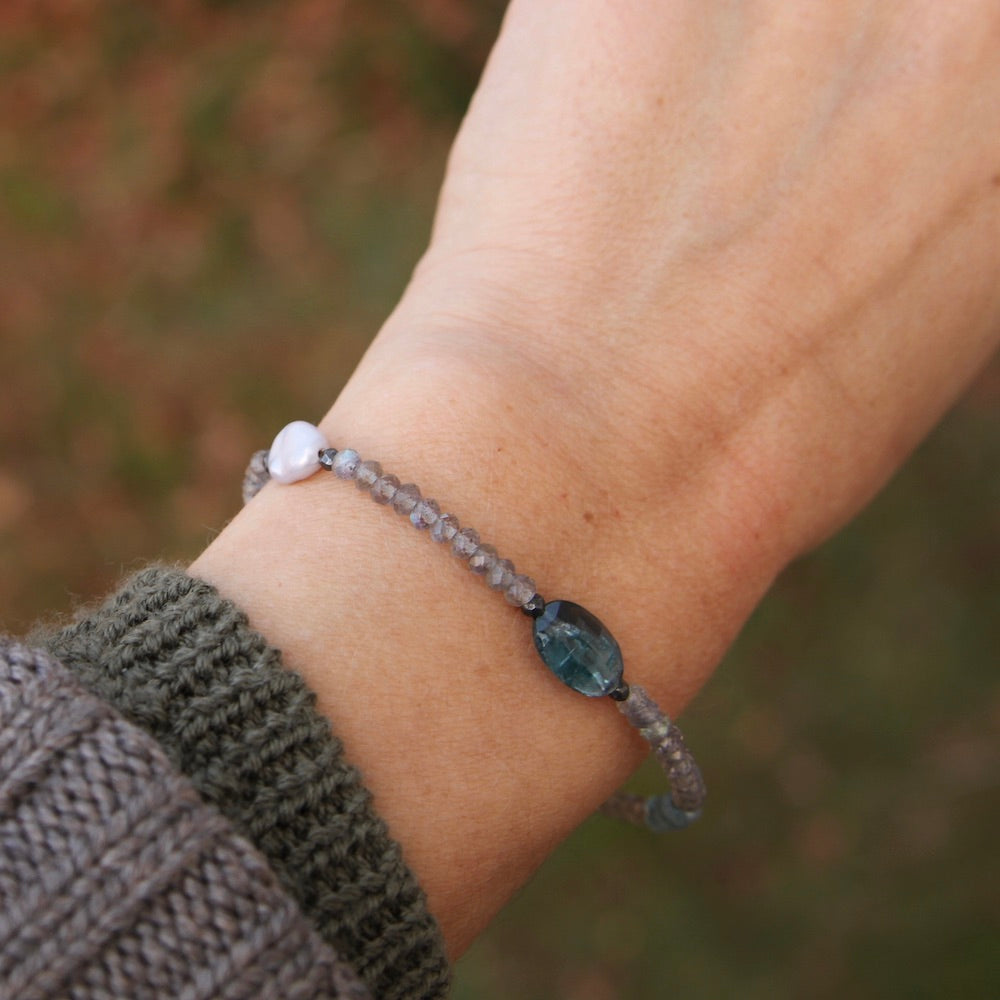 Mixed Blues Bracelet