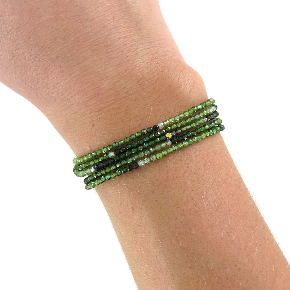 GREEN TOURMALINE WRAP