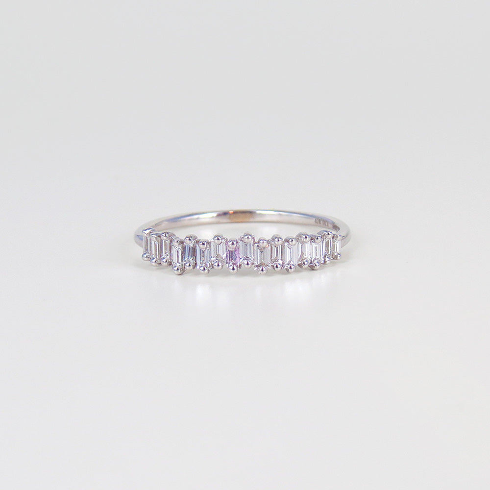 DIAMOND BAGUETTE MINI BAND