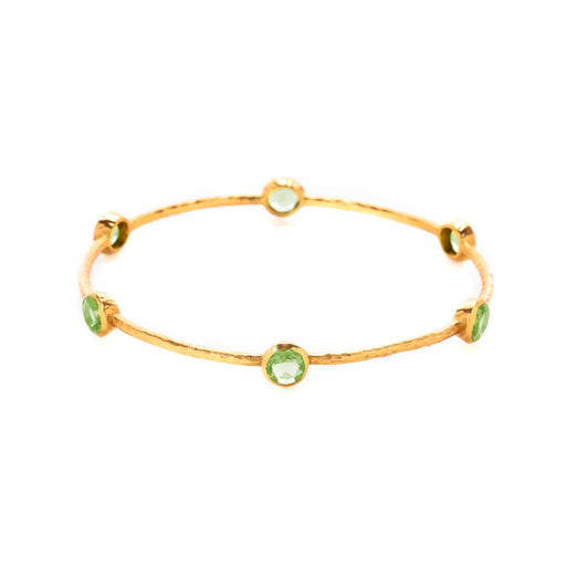 MILANO PERIDOT BANGLE