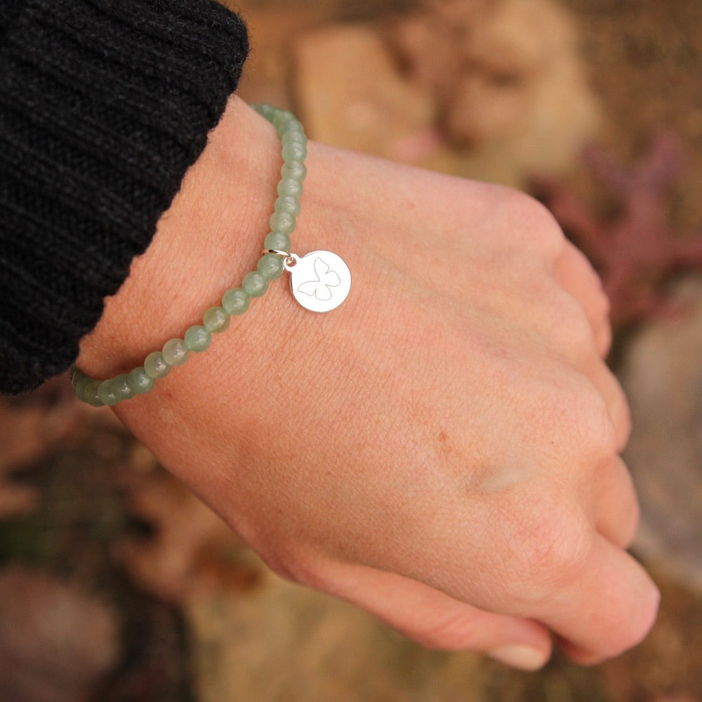 Embrace Change ~ Stretchy Aventurine Bracelet