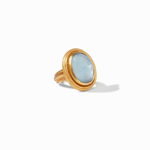 Chalcedony Blue Barcelona Statement Ring