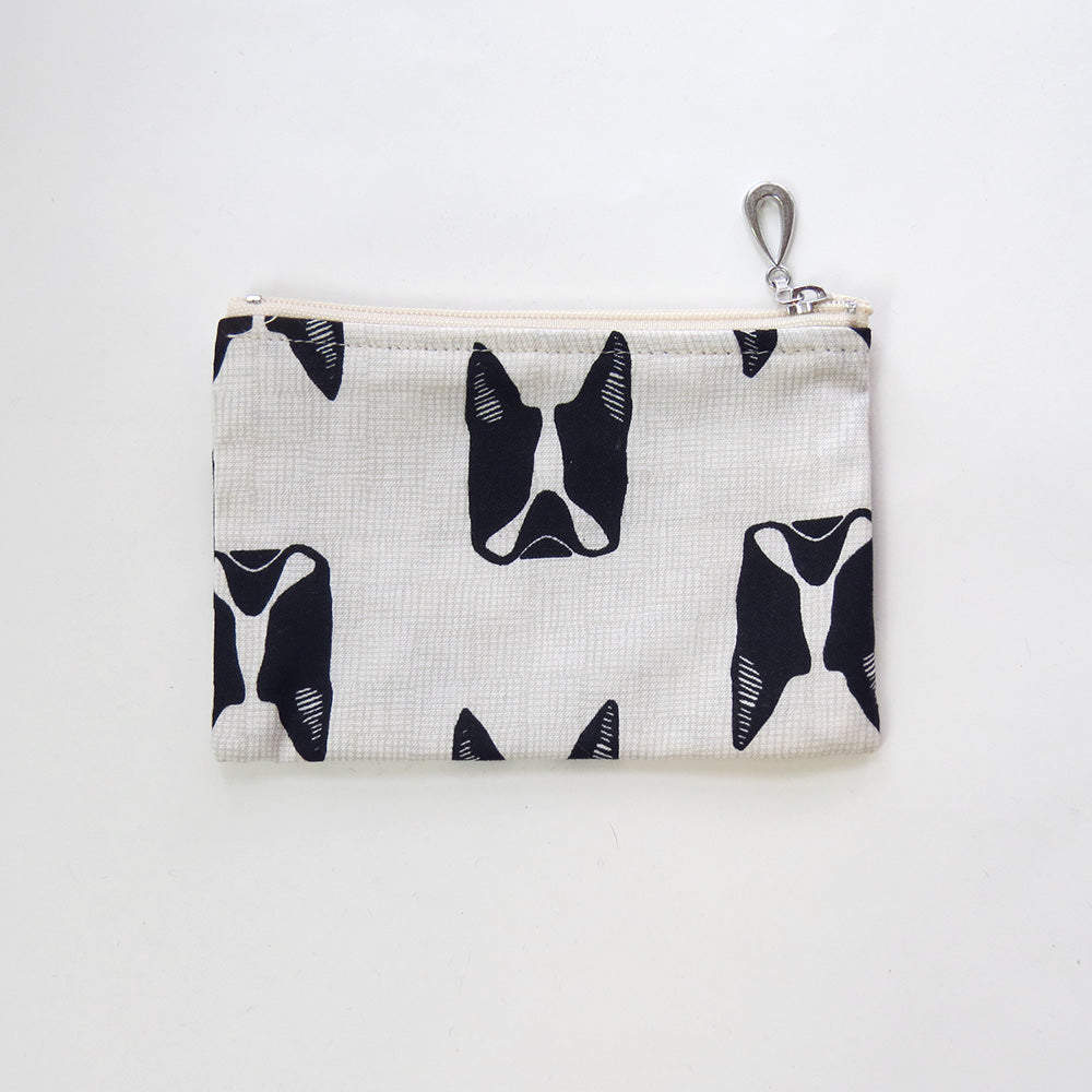 FRENCH BULLDOG COTTON COIN PURSE