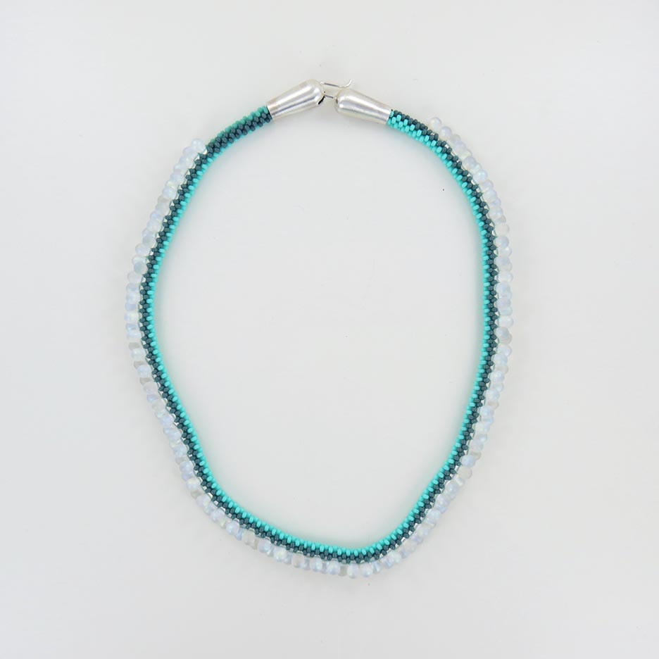 MINT DROP NECKLACE