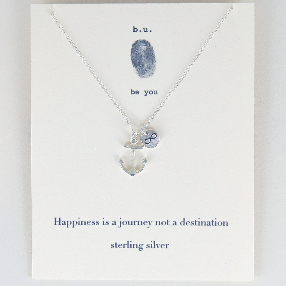HAPPINESS IS A JOURNEYY NECKLACE