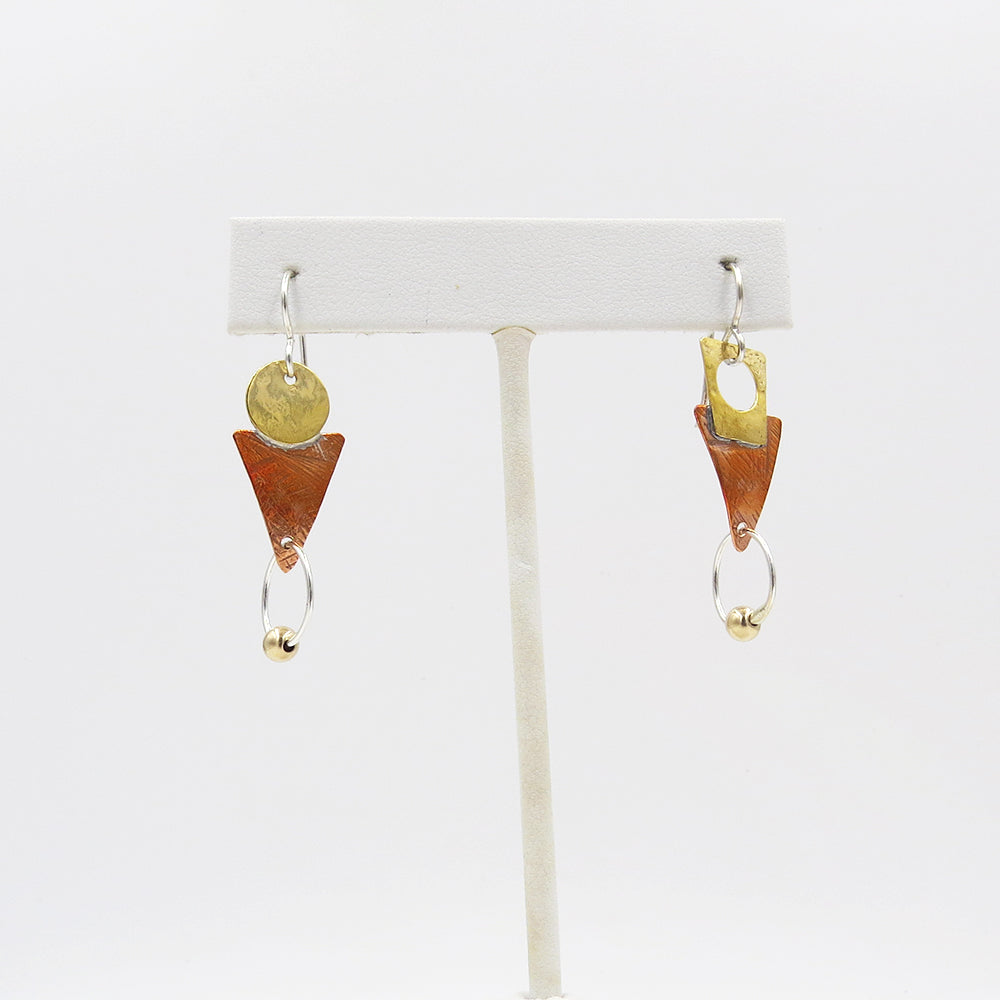 PUZZLE GEO EARRINGS