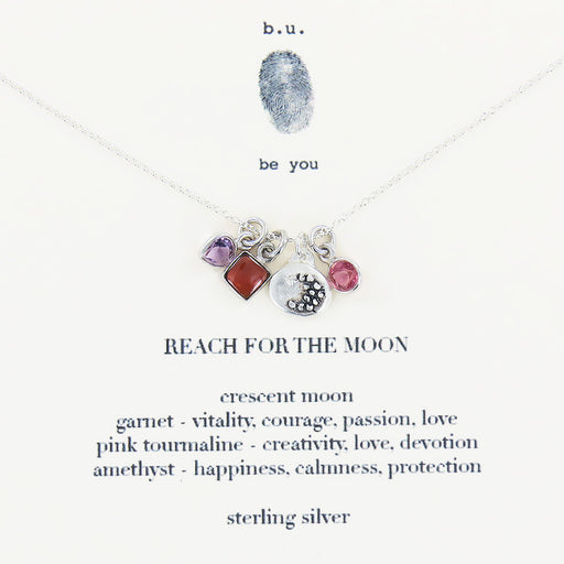 REACH FOR THE MOON NECKLACE