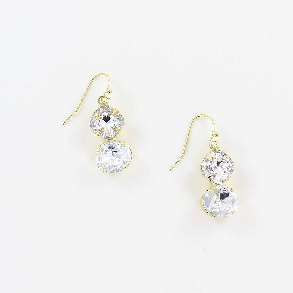 DOUBLE CUSHION EARRING