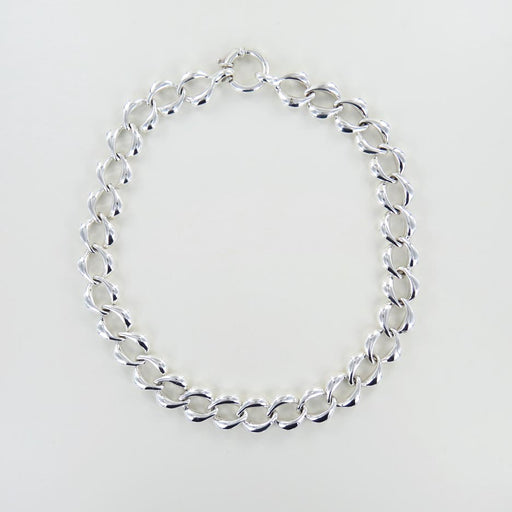 OVAL LINK ELECTROFORM NECKLACE