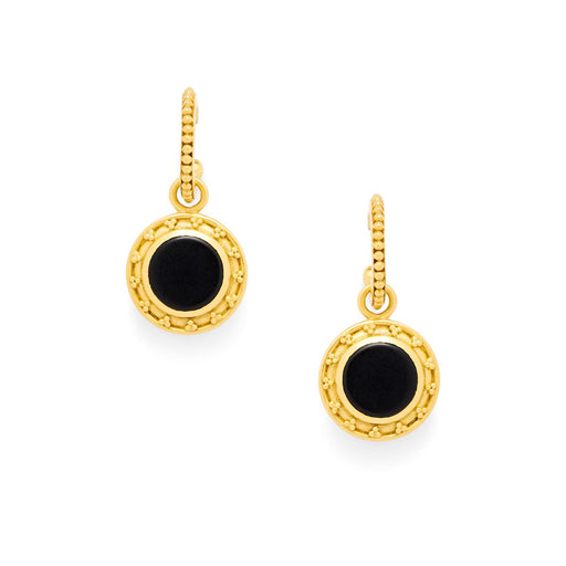 SOFIA BLACK ONYX EARRING