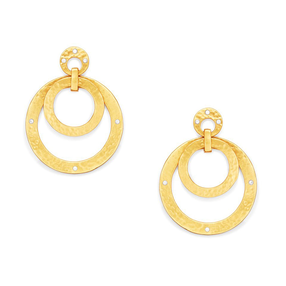 CRESCENT STATEMENT EARRING