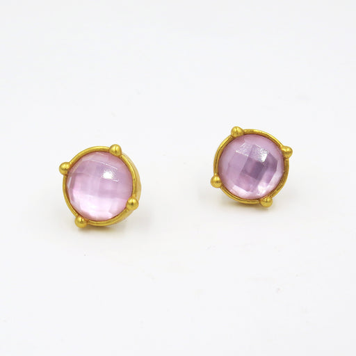 ROSE HONEY STUDS