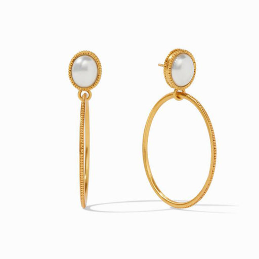 VERONA PEARL STATEMENT EARRING