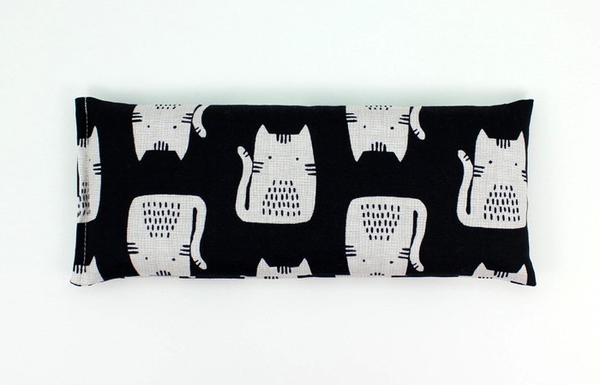 Lavender Eye Pillow - Black Cat